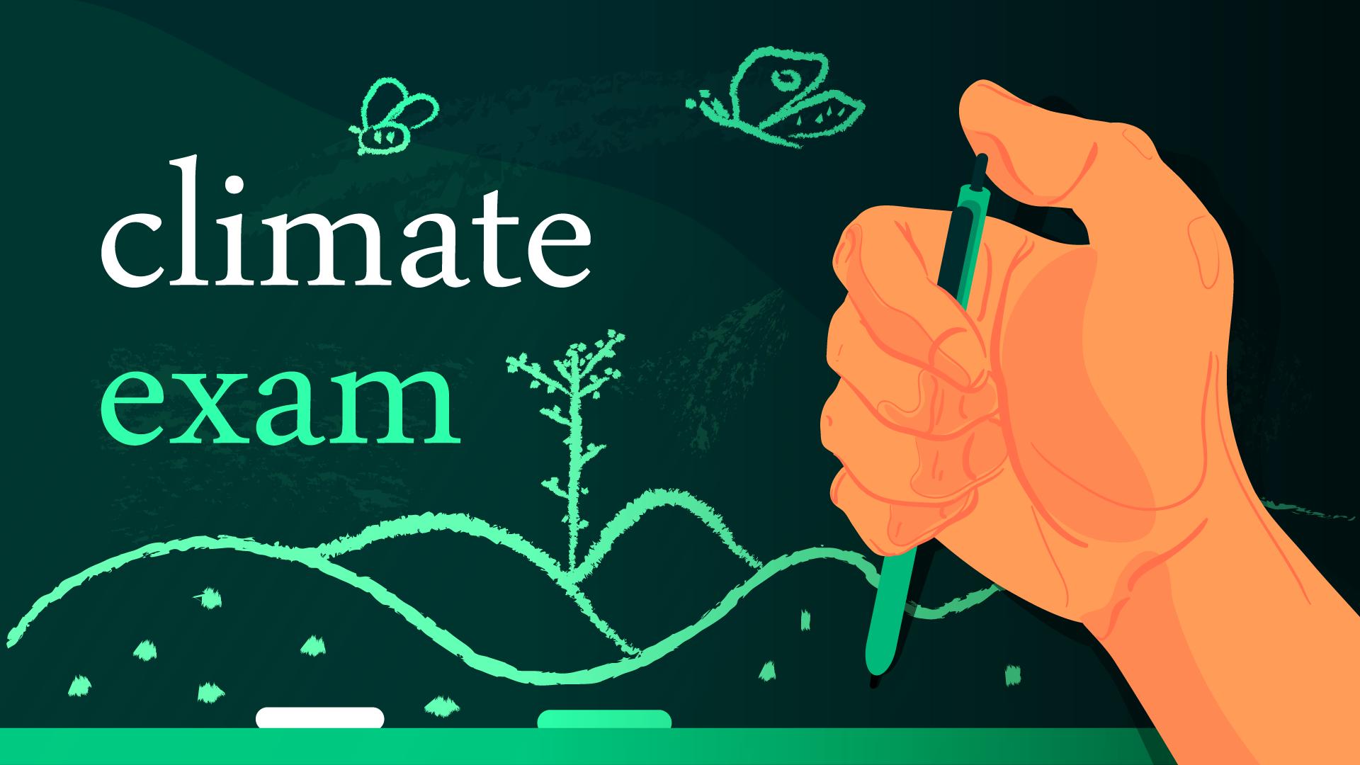 climate exam
