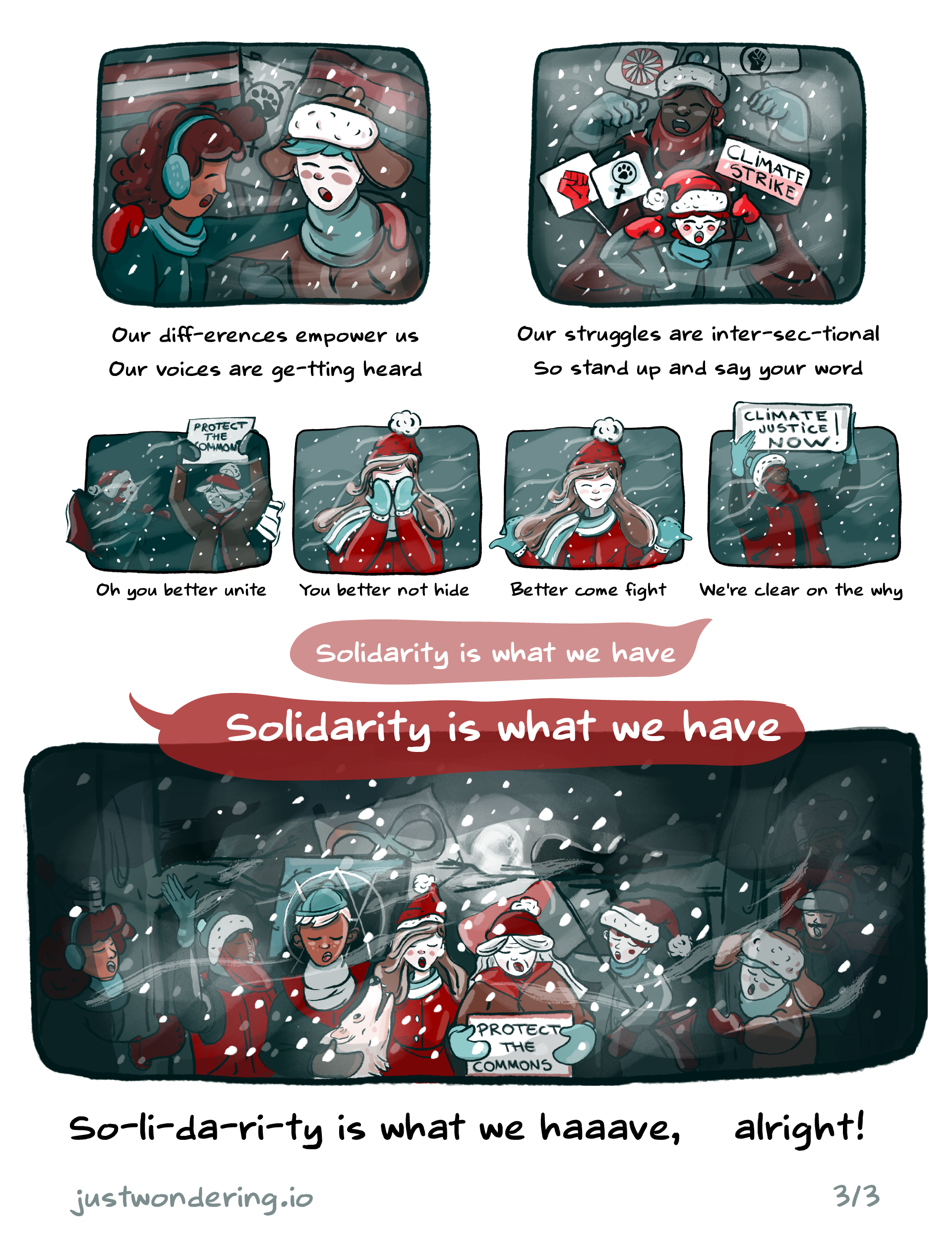 Solidarity is coming to town page 3
